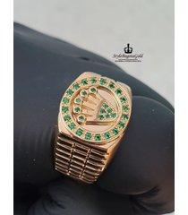 anillo en oro 18k / 750 italiano