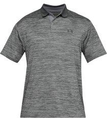 camiseta polo under armour performance textured para hombre - gris