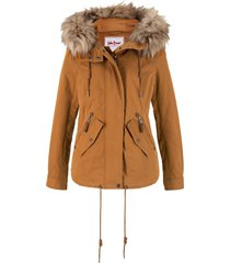 giacca imbottita leggera (marrone) - john baner jeanswear