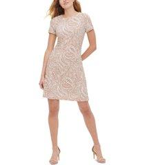 tommy hilfiger atlas shadow paisley-print shift dress