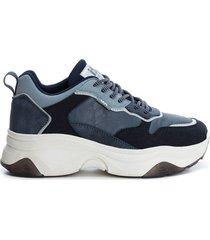 zapato auset textil_ navy xti