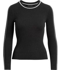 sweater stretch cotton negro banana republic