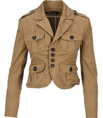 d squared multi pocket charlotte blazer