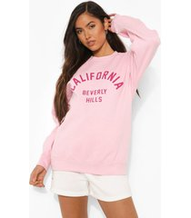 california sweater, light pink