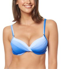 bleu by rod beattie ombre underwire bikini top women's swimsuit