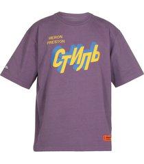 heron preston logo oversize t-shirt