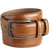joseph abboud cognac dress belt