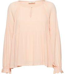 betzy blus långärmad rosa minimum