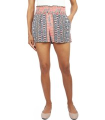 be bop juniors' smocked soft shorts