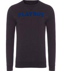 blusa masculina fine playboy classic - preto