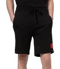 """hugo hugo boss men's diz212 relaxed-fit 12"""" track shorts"""