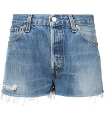 faded shorts blue
