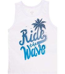 camiseta de playa blanco offcorss