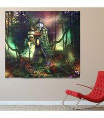 hada del bosque pared de colgante de la tapicería de bohemia hippie banda colcha decoración - 3
