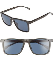 boss 1082/s 54mm sunglasses in matte grey at nordstrom