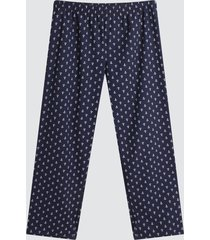 pantalon para hombre anclas color azul, talla l