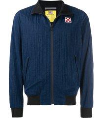 blue sailor zip jacket