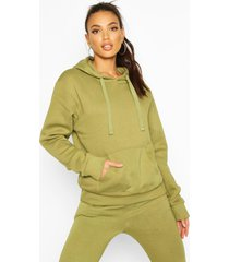 oversized hoodie, olive