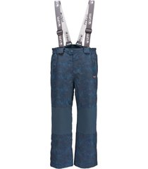 pantalon andes snow azul noche / print azul lippi