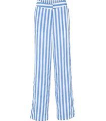 pantaloni a palazzo a vita alta (blu) - bodyflirt boutique