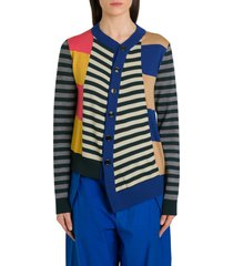 colville knitted twisted cardigan