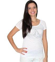 camiseta volcom especial devote crest feminina