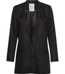 06 the suit blazers over d blazers svart denim hunter