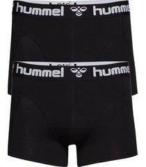 hmlmars 2pack boxers boxerkalsonger svart hummel