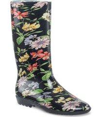 botas de lluvia egil negro para mujer croydon