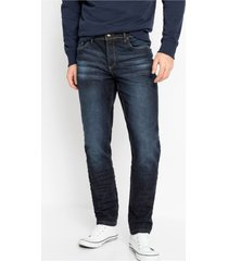slim fit stretch jeans, tapered