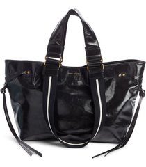 isabel marant bagya leather tote -