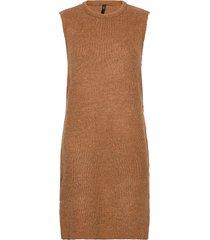 yaszal long waistcoat d2d vests knitted vests brun yas
