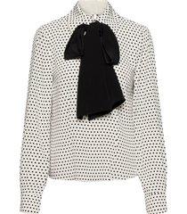 gilla by nbs blouse lange mouwen wit custommade