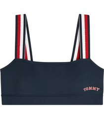 tommy hilfiger dames bralette navy -s