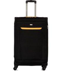 maleta de viaje grande en lona con cuatro ruedas giratorias 94127