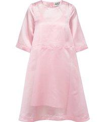 cholet dress knälång klänning rosa just female