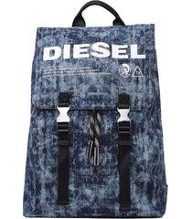 mochila volpago back backpack azul diesel