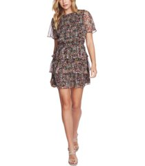 1.state forest gardens ruffled tiered dress
