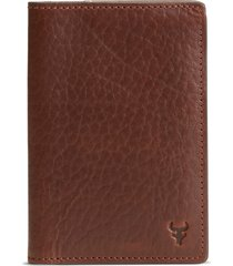 men's trask jackson leather passport case -
