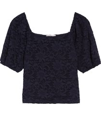 women's chelsea28 crop lace top