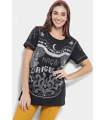 blusa farm t-shirt nação ziriguidum feminina