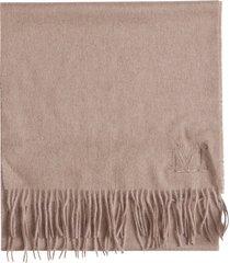 max mara camel scarf