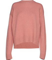 dover sweater stickad tröja rosa hope