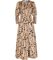 ambika jurk animal tawny