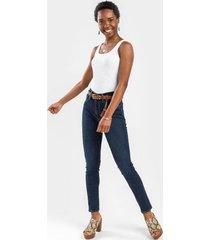 levi's® 721 high rise classic skinny jeans - dark