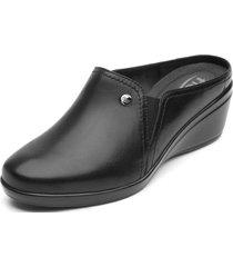 zapato mujer yulisa negroliso flexi