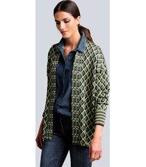 vest alba moda groen::marine