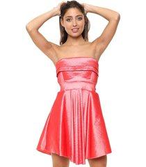 vestido coral nano