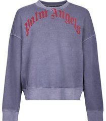 palm angels branded sweatshirt
