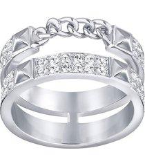 swarovski anillo doble pave lady ring 5230679 55